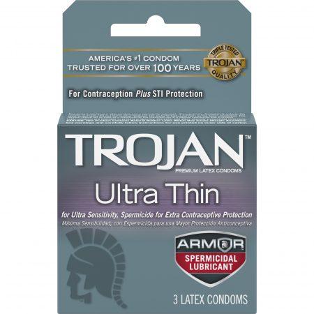 Ultra Thin Spermicide 3ct